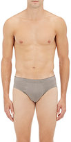 "Hanro Men's ""Cotton Superior"" Cotton Briefs-GREY"
