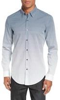 BOSS Men's 'Rodney Fade Out' Trim Fit Print Sport Shirt