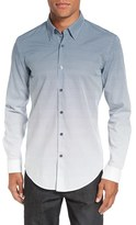 BOSS 'Rodney Fade Out' Trim Fit Print Sport Shirt