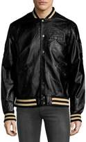 Members Only Rib-Trimmed Bomber Jacket