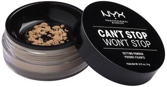 NYX Can't Stop Won't Stop Setting Powder - Medium