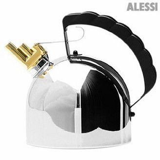 Alessi Stainless Steel Kettle with Melodic Whistle