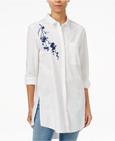 Velvet Heart Alexandria Cotton Embroidered Tunic