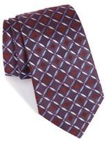 Armani Collezioni Geometric Silk Tie