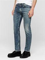 Calvin Klein Mens Straight Leg Indigo Blue Jeans