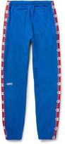 Vetements Champion Slim-Fit Loopback Cotton-Blend Jersey Sweatpants