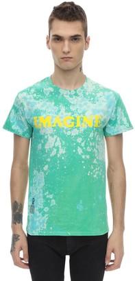Darkoveli Imagine Bleach Cotton Jersey Ls T-Shirt