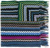 M Missoni zigzag cashmere scarf