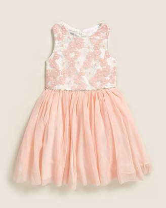 Pippa & Julie Toddler Girls) Embroidered Floral Bodice Tutu Dress