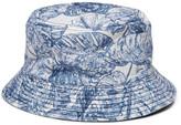 Alex Mill Reversible Cotton-Jacquard Bucket Hat