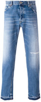 Dondup trim detail jeans