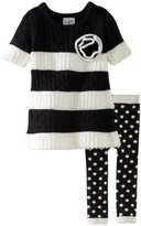Mud Pie Baby-girls Infant Diva Knit Tunic and Leggings Set