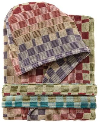 Missoni Home Yassine Hooded Bath Robe (Small/ Medium)