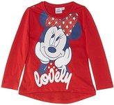 Disney Girls' Minnie Mouse Long Sleeve T-Shirt