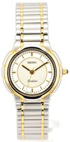 Seiko Exceline Stainless Steel & Gold Plated Quartz 24mm Womens Watch