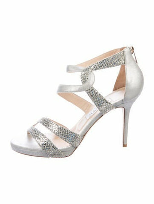 Jimmy Choo Sandals Silver