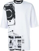 Diesel Black Gold 'Tykuna Ray' T-shirt - men - Polyester/Spandex/Elastane/Rayon - L