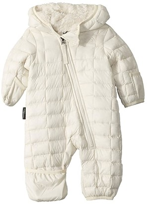 The North Face Kids ThermoBalltm Eco Bunting (Infant) (Vintage White) Kid's Jumpsuit & Rompers One Piece