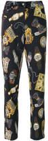 Moschino Fantasia print trousers