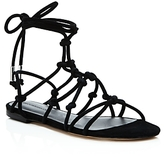 Rebecca Minkoff Elyssa Suede Lace Up Gladiator Sandals