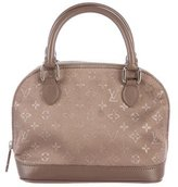Louis Vuitton Monogram Satin Nano Alma Bag