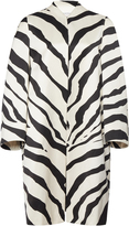 Lanvin Zebra Cotton-Blend Coat
