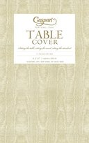 Caspari Disposable Gold Moire Tablecloth, Gold