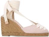 Castaner ankle-wrap espadrilles - women - Cotton/Canvas/rubber - 37