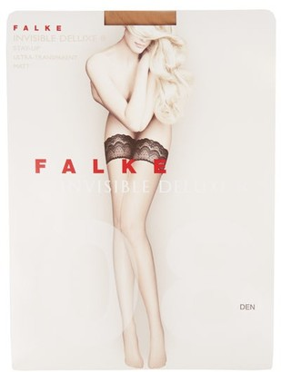 Falke Invisible Deluxe 8 Hold-ups - Nude