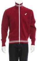 Michael Bastian Embroidered Zip-Up Sweatshirt