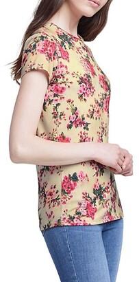 L'Agence Ressi Floral Crewneck T-Shirt