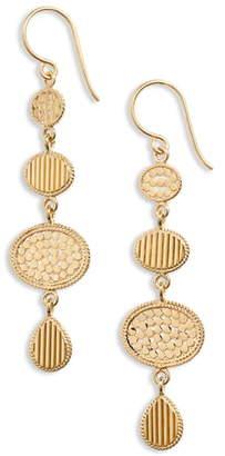 Anna Beck Ribbed Multi Drop Earrings
