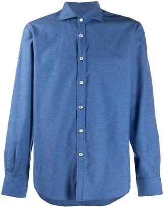 Canali French collar shirt