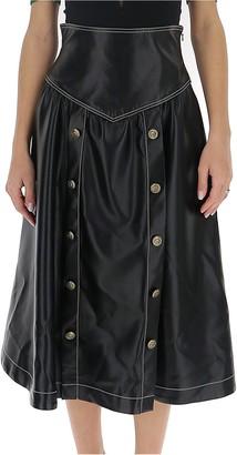 Philosophy di Lorenzo Serafini Buttoned Flared Skirt