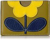 Orla Kiely Giant Flower Leather Card Holder