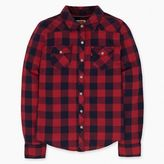 Levi's Girls (7-16) Long Sleeve Plaid Western Top