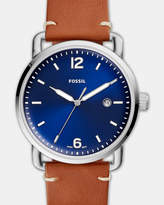 Fossil The Commuter Brown Analogue Watch