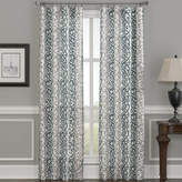CHF Damask Stripe Rod-Pocket Curtain Panel