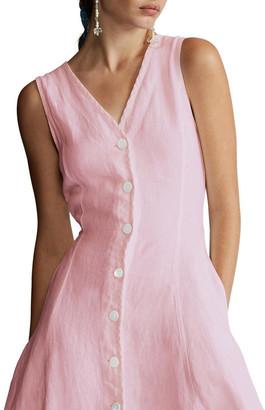 Polo Ralph Lauren Linen Sleeveless Dress