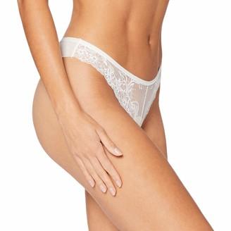 women'secret Women's Brazilian lace and Tulle Panties Not Applicable