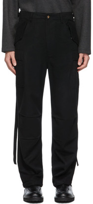 Winnie New York Black Combat Cargo Pants