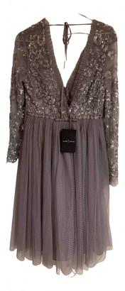 Needle & Thread Grey Lace Dresses