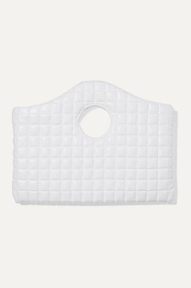 A.W.A.K.E. Mode Anouk Quilted Faux Leather Tote - White