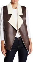 French Connection Winter Rhoda Faux Shearling Vest