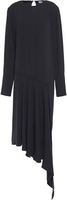 16Arlington Asymmetric Twill Dress