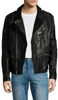Rogue Leather Asymmetrical Motorcycle Jacket