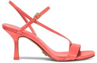 Michael Kors Tasha Leather Slingback Sandals