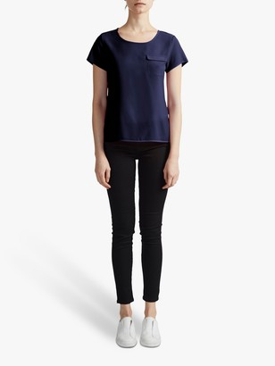 French Connection Classic Crepe T-Shirt