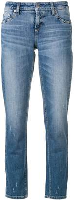 Cambio stud embellished jeans