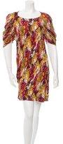 Thakoon Printed & Pleated Dress